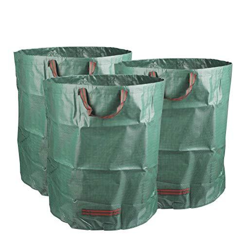 TIMESETL 3Pack Garden Bags 810 litros Pop-up Bolsa de
