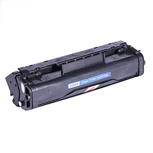 MALPYQA Compatible con los Cartuchos de tóner HP C3906F para los Cartuchos de tóner HP Laserjet 06F / 5L / 6L / 3100,Black