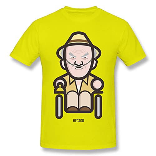 T Shirts Men Icon Set - Hector SALAMensCA T-Shirt Father Day Tops Breaking Bad Pure Cotton Tees