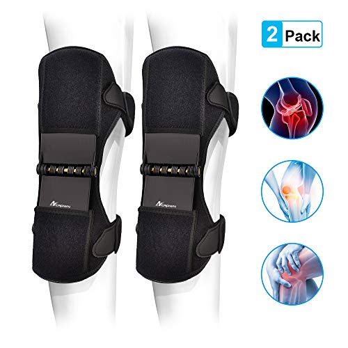 ANCROWN Power Knee Braces Joint Support, 2020 Upgraded Powerknee Stabilizer Pads, Protective Gear...