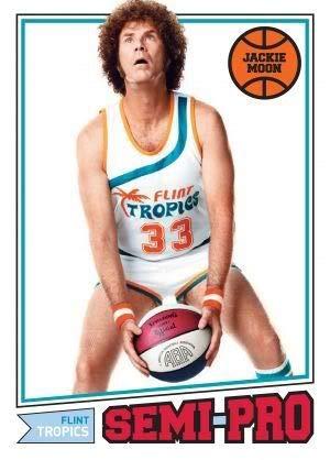 SEMI PRO - Will Ferrell Jackie Moon – Film Poster Plakat Drucken Bild – 43.2 x 60.7cm Größe Grösse Filmplakat