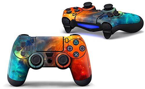SKINOWN Skins Aufkleber für PS4 Controller (für Sony Playstation 4 DualShock Wireless Controller), Cosmic Nebular