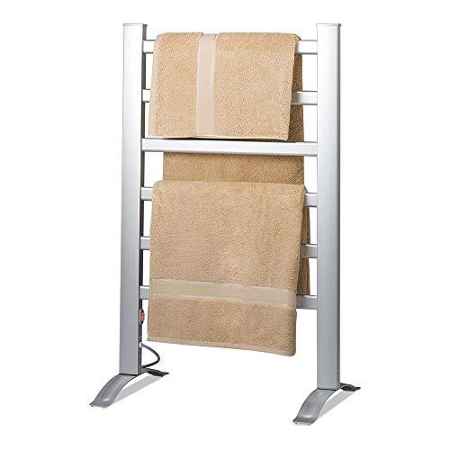 Knox Freestanding & Mountable Towel Warmer & Drying Rack - 6 Bars - Aluminum Fra