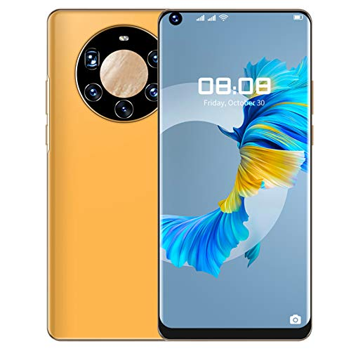 7.3 Smartphone Desbloqueado con 6 + 64G, Doble Tarjeta De Doble Modo De Espera, Batería de 4800 Mah, TeléFono Con Desbloqueo Facial Y De Huellas Dactilares, TeléFono MóVil con CáMara HD(I)