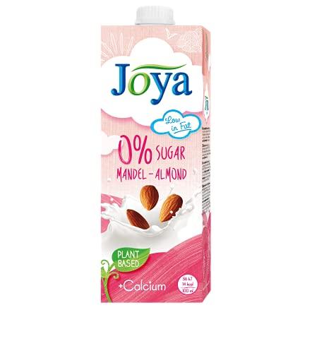 JOYA Bio Mandel Drink 10er Pack (10 x 1l) I veganer Milch Ersatz I Mandel Getränk ohne Zuckerzusatz laktosefrei I Almond Drink Organic I Plantbased I Milchalternative pflanzlich