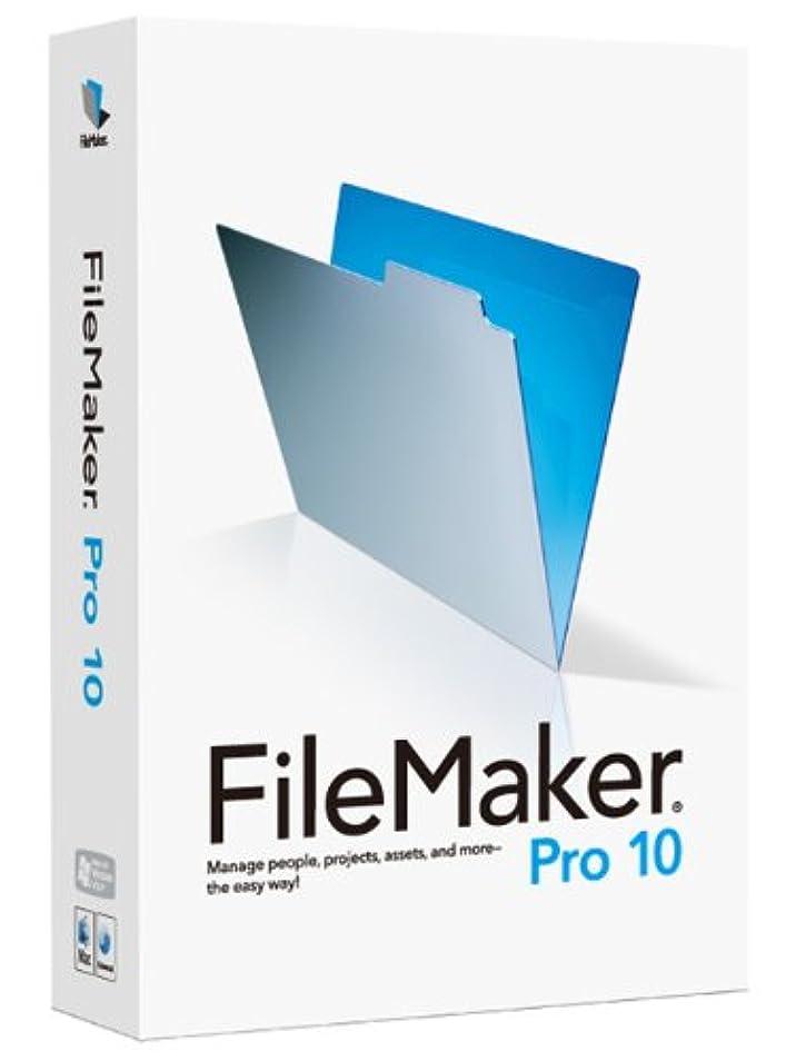マーキング始まり相互接続FileMaker Pro 10