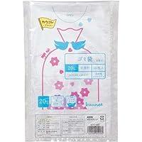 カウネット 高密度 ゴミ袋エコ厚 詰替用20L120枚×16