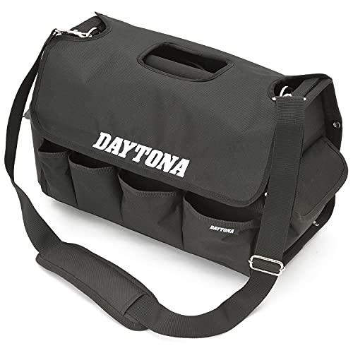 デイトナ バイク用 工具入れ 手提げ&ショルダー 脱着式カバー 缶スプレーホルダー 底が床につかない メンテナンスツールバッグ 22150