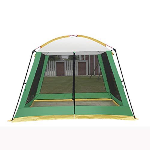 SMSJ-YJ Außen Shade Freizeit Konto außerhalb Himmel Vorhang Markise 6-10 Personen Camping Regenschutz Sonnenschutz Barbecue Strand Angeln Wilde Faltzelt (Color : B1)