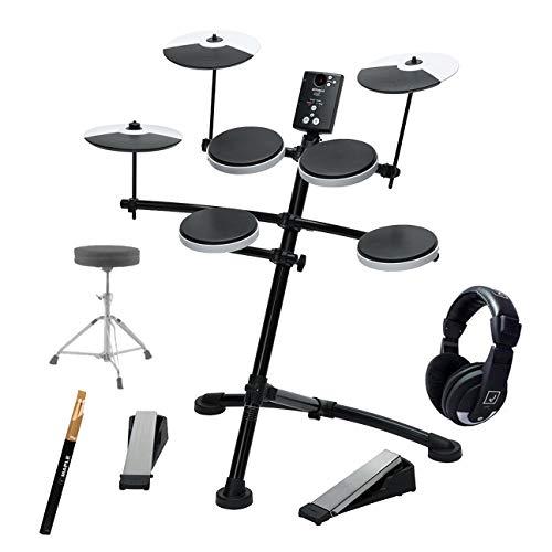 Kit Batería Electrónica Roland TD-1K | Incluye Auriculares, Sillín y Baquetas | V-Drums Batería Digital Completa | Ideal para principiantes