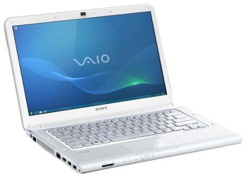 'Sony VPCCA3S1E Laptop 14(35,5cm) Intel Core i3–2330M 500GB RAM 4096MB Windows 7ATI Radeon HD 6470M Laufzeit von Akku: bis zum 4H rot weiß Q4 2011