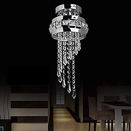 Decoración Hogareña Iluminación Colgante Redondo simple Led Crystal decoración del hogar de la lámpara, conveniente for el comedor, pasillo, balcón, estudio, dormitorio, pasillo, sala de exposiciones,