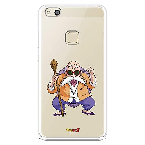 Funda para Huawei P10 Lite Oficial de Dragon Ball Maestro Mutenroshi para Proteger tu móvil. Carcasa para Huawei de Silicona Flexible con Licencia Oficial de Dragon Ball.
