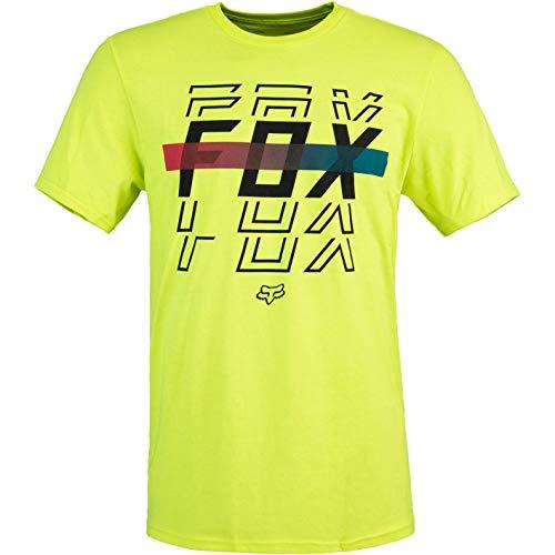 Fox Cranker T-Shirt Herren (M, Yellow)