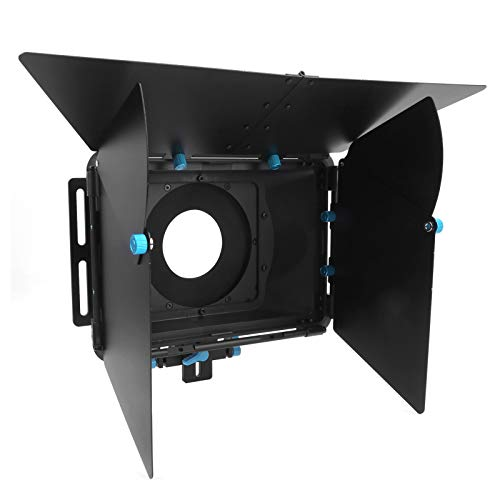 Bindpo Caja Mate, Sistema de guías deslizantes de 15 mm Caja Mate para fotografía con Tres barreras de luz Accesorios de Disparo de cámara, para Grabar Videos/Tomar fotografías