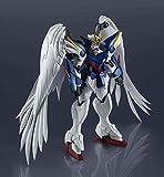 Bandai – Figurinas Gundam Mobile Suit – XXXG-00W0 Wing Gunda Zero EW 15 cm – 4573102589583