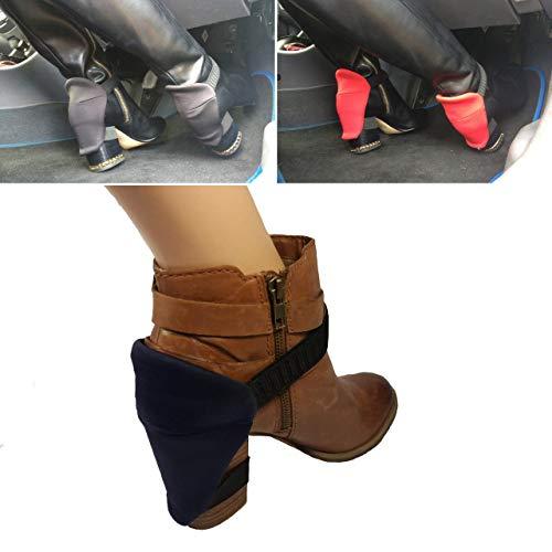 Scheuern Sie Ihre Fersen ab, wenn Sie in sie fahren? Tragen Sie Ihre blauen Stiefel-Fersenschutz für abriebfreie, schöne Stiefel mit Blockabsatz und Schuhe