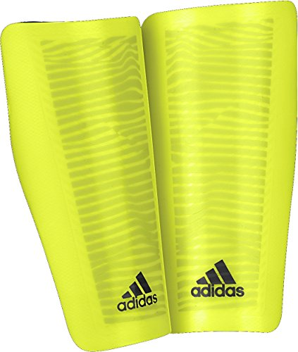 adidas Performance X Lesto Shin Guard, Solar Yellow/Black, Small