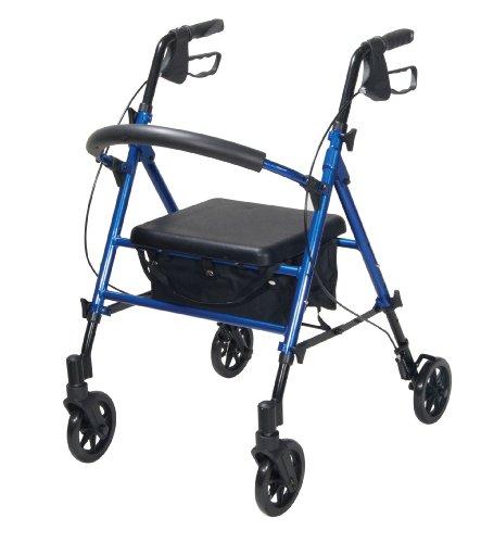 Drive Medical Adjustable Height Rollator