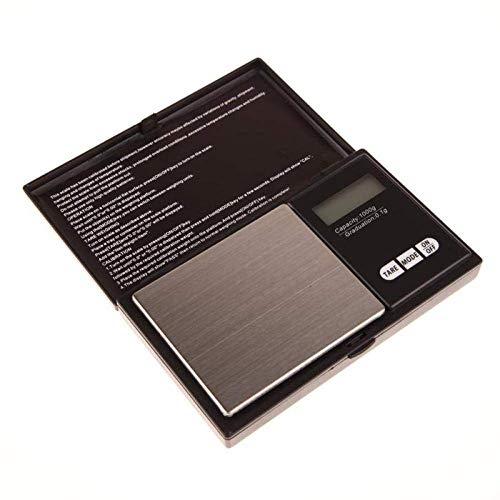 Relaxbx Mini-Schmuckwaage, digitale Präzisionswaage für Schmuck, Silbermünze, Taschengröße, 1000 g x 0