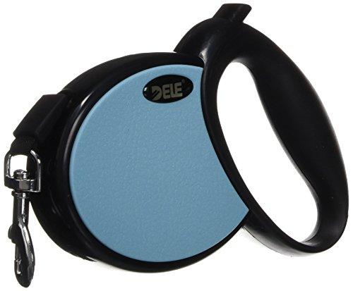 Petcessory prl-001-blu 13'retráctil Perro Correa, Mediano, Azul