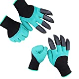 HAODE FASHION 2 Pairs Garden Genie Gloves with Fingertips Claws on...