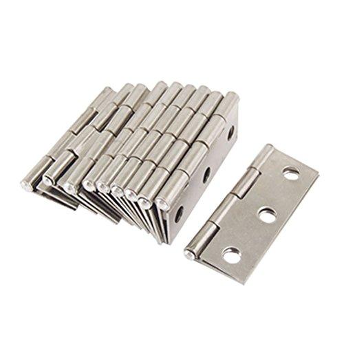 LEORX Connettori per finestra cerniere acciaio inox armadio 10pz