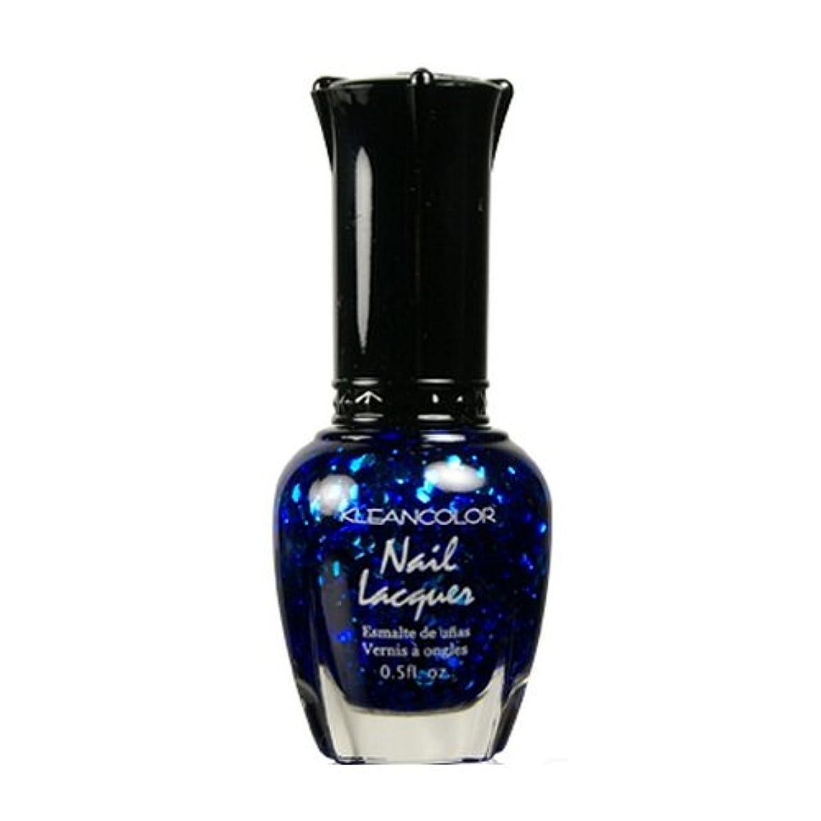 ウッズ鎖算術(6 Pack) KLEANCOLOR Nail Lacquer 4 - Blue-eyed Girl (並行輸入品)