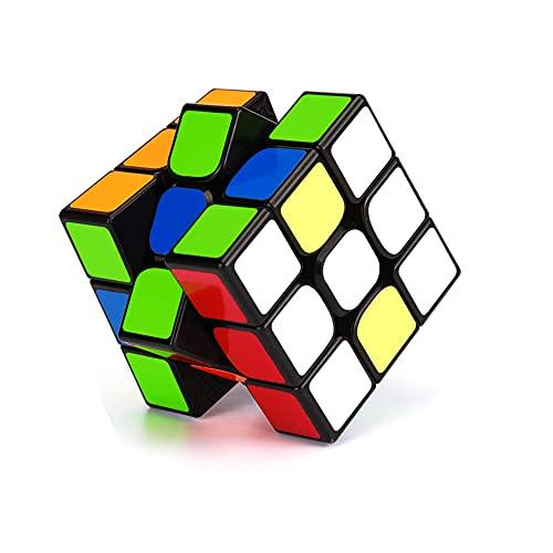 3x3 Magic Cube 魔方 世界基準六色 魔方 競技用 「六面完成攻略書付き」対象年齢6歳以上 立体パズル