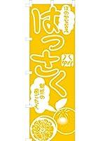 はっさく(黄色) のぼり旗