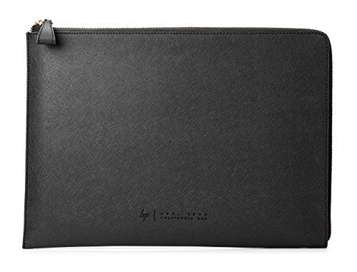 HP Spectre Leder Schutzhülle (33,8 cm / 13,3 Zoll) für Notebooks, Laptops, Tablets in schwarz