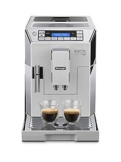 De'Longhi Eletta Cappuccino, Fully Automatic Bean to Cup Machine, Espresso, Coffee Maker, ECAM 45.760.W, White (B00I6E7B90) | Amazon price tracker / tracking, Amazon price history charts, Amazon price watches, Amazon price drop alerts