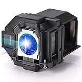 AuKing Beamerlampe für Epson ELPLP96 EH-TW650 EH-TW5600 EH-TW5650 EB-U05 EB-W05 EB-W39 EB-S41 PowerLite Home Cinema 1060 2100 2150 EX7260 EX9210 EX9220 VS250 VS350 V13H010L96 Ersatzlampe Beamer Lampe