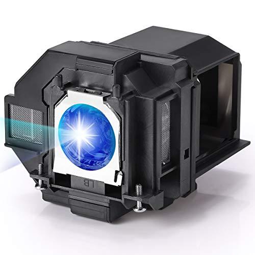 AuKing Lámpara de Proyector para Epson ELPLP96 EH-TW650 EH-TW5600 EH-TW5650 EB-U05 EB-U42 EB-W05 EB-W39 EB-S05 EB-S39 EB-S41 PowerLite Home Cinema 1060 2100 2150 EX7260 EX9210 EX9220 VS250 VS350 VS355