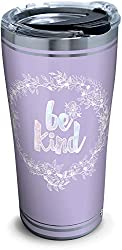 purple be kind stainless tumbler