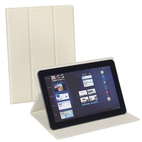 Pedea Tablet Tasche mit Klebefolie für Lenovo Yoga 8 /Odys Connect 7 Pro /Odys Junior Tab 8 Pro / Sony Xperia Z3 Compact Tablet / Star N9000 Note 3 III weiß
