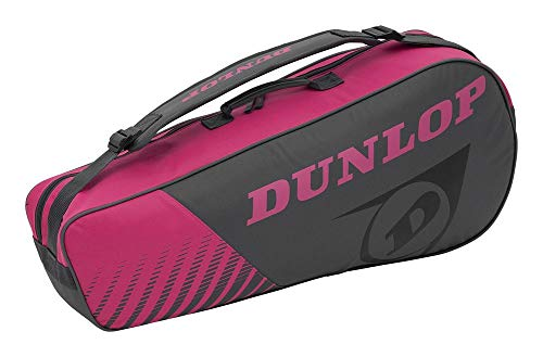 Dunlop 10295444 Raquetero, Unisex-Adult, Gris Rosa, Talla...