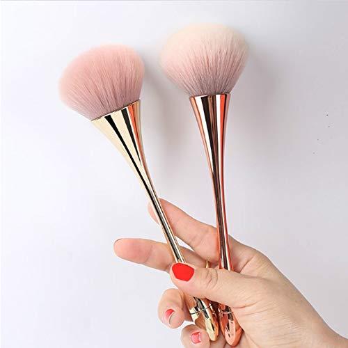Pinceaux de Maquillage 1 Pcs Rose Or Maquillage Brosses Ensemble Pour Fondation Poudre Blush Fard À Paupières Anti-cernes Lèvres Yeux Faire