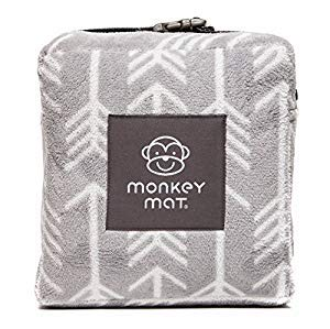 Monkey Mat - Plush Mat | Lightweight Luxuriously Soft Waterproof Picnic Travel Blanket with Corner Weights - 5