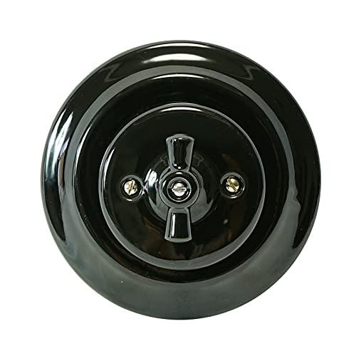 Interruptor de Porcelana para Empotrar Instalación 240V,10A