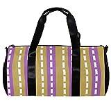 Anmarco Duffel Bag per le Donne Uomini Boccaglio Multicolore Sport Palestra Tote Bag Weekend Pernottamento Borsa Da Viaggio All'aperto Bagagli