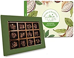 House of Nutrition MultiSeeds Chocolates Diwali Gift Pack 12pcs - Improves Immunity(Chia, Pumpkin, Sunflower,...
