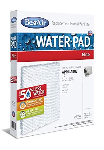 BestAir A12W-PDQ-6 Luftbefeuchter Ersatzpapier Waterpad Filter für Aprilaire, Chippewa, Humid-Aire Neptune & Walton Modelle, 38,1 x 29,5 x 5,1 cm, Einzelpackung