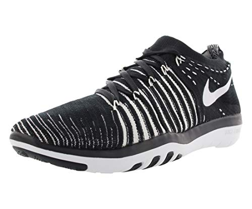 Nike Women's Wmns Transform Flyknit, Black/White, 6.5 US