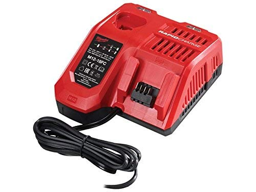 Milwaukee M12-18FC M12-M18 Multi Fast Charger, 230 V, One Size