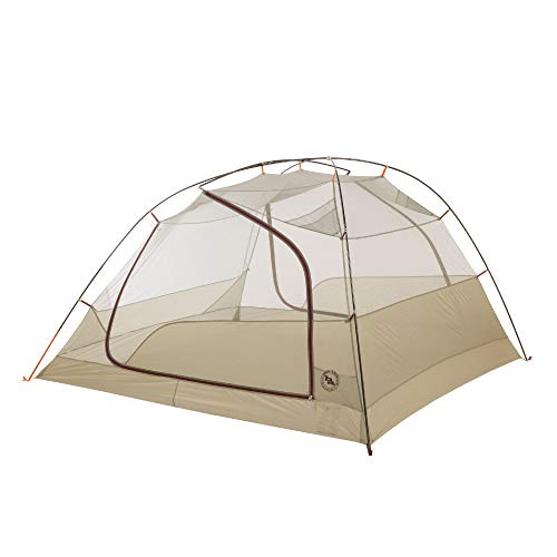 Big Agnes Copper Spur HV UL4 Backpacking Tent, Olive Green, 4 Person