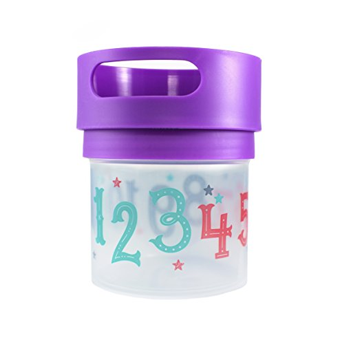 Munchie Mug Snack Cup 12 Oz Purple