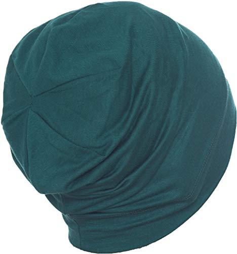 Deresina Headwear Unisex Indoors Cotton Beanie (Jade)