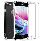 iVoler Cover per iPhone SE 2020 / iPhone SE 2 / iPhone 8 / iPhone 7, Antiurto Custodia con Paraurti in TPU...