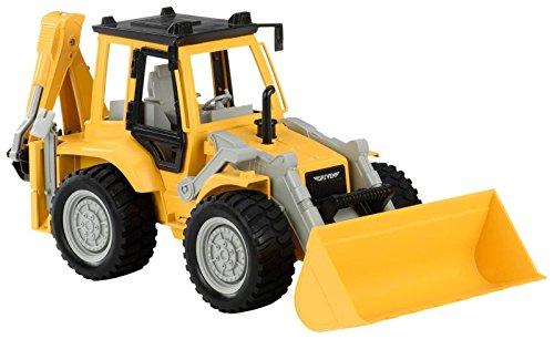 DRIVEN by Battat – Retroexcavadora con Sonidos de Motor – para niños de 4 Anos en adelante, Nailon/A. (WH1005C1Z)